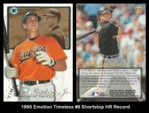 1995 Emotion Timeless #8 Shortstop HR Record