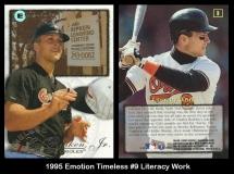 1995 Emotion Timeless #9 Literacy Work