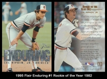 1995 Flair Enduring #1 Rookie of the Year 1982