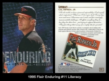 1995 Flair Enduring #11 Literacy