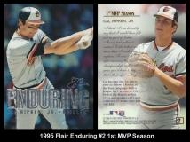 1995 Flair Enduring #2 1st MVP Season