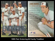 1995 Flair Enduring #4 Family Tradition