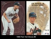 1995 Flair Hot Gloves #9
