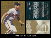 1995 Flair Hot Numbers #8