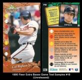 1995 Fleer Extra Bases Game Test Samples #18