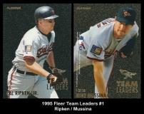 1995 Fleer Team Leaders #1