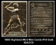 1995 Highland Mint Mini Cards #19 Gold