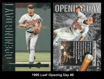 1995 Leaf Opening Day #6