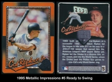 1995 Metallic Impressions #5 Ready to Swing