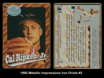 1995 Metallic Impressions Iron Oriole #2