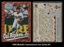 1995 Metallic Impressions Iron Oriole #3