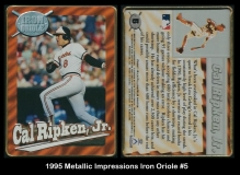 1995 Metallic Impressions Iron Oriole #5