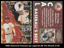 1995 Diamond Classics by Legends #8 The Streak 2130