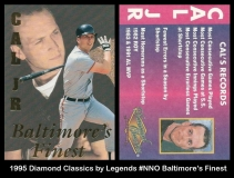 1995 Diamond Classics by Legends #NNO Baltimores Finest