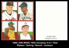 1995 JSW #NNO 1935 Goudney 4-in-1 Red 2