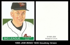 1995 JSW #NNO 1935 Goudney Green
