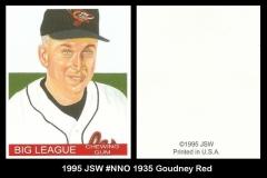 1995 JSW #NNO 1935 Goudney Red