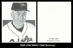 1995 JSW #NNO 1948 Bowman