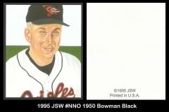1995 JSW #NNO 1950 Bowman Black