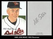 1995 JSW #NNO 1952 Bowman