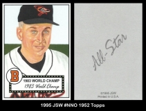 1995 JSW #NNO 1952 Topps