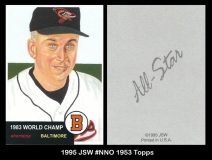 1995 JSW #NNO 1953 Topps