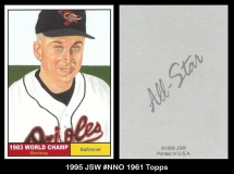 1995 JSW #NNO 1961 Topps