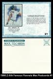 1995 Z-Silk Famous Flannels Max Postcards #1