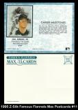 1995 Z-Silk Famous Flannels Max Postcards #11
