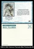 1995 Z-Silk Famous Flannels Max Postcards #3