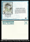 1995 Z-Silk Famous Flannels Max Postcards #4