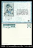 1995 Z-Silk Famous Flannels Max Postcards #5