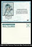 1995 Z-Silk Famous Flannels Max Postcards #6