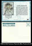 1995 Z-Silk Famous Flannels Max Postcards #7