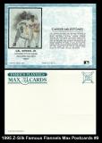 1995 Z-Silk Famous Flannels Max Postcards #9