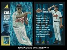 1995 Pinnacle White Hot #WH1