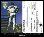 1995-International-Sports-Card-Expo-1-Jumbo-Phone-Card-NNO