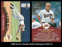 1995 Score Double Gold Champions #GC12