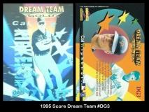 1995 Score Dream Team #DG3