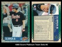 1995 Score Platinum Team Sets #3