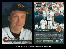 1995 Select Certified #2131 Tribute