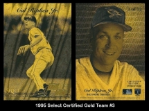 1995 Select Certified Gold Team #3