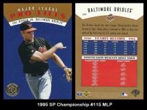 1995 SP Championship #115 MLP