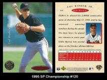 1995 SP Championship #120