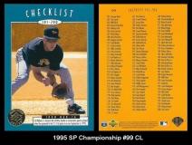 1995 SP Championship #99 CL