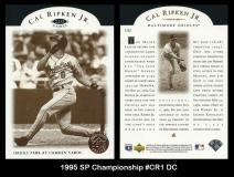 1995 SP Championship #CR1 DC
