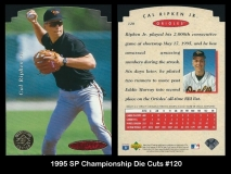 1995 SP Championship Die Cuts #120