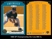 1995 SP Championship Die Cuts #99 CL