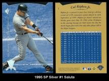 1995 SP Silver #1 Salute
