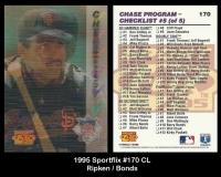 1995 Sportflix #170 CL